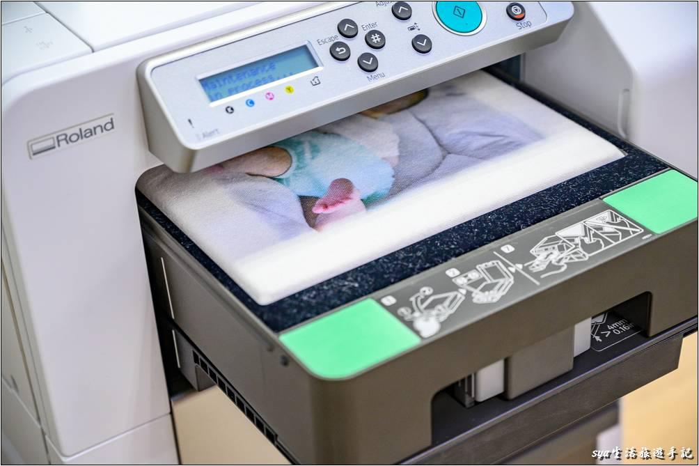 帆布袋紡織直噴印刷完成-個性化商品
