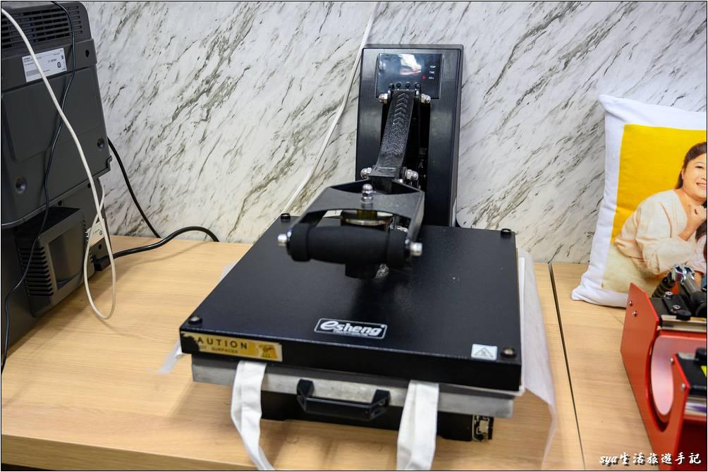 高溫固色流程-客製化設備
