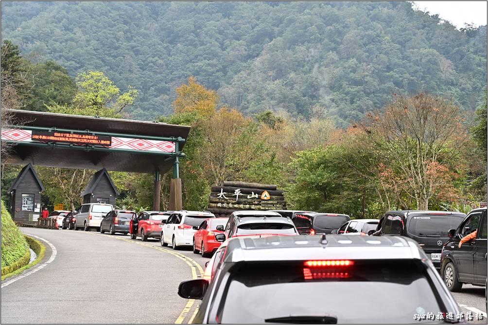 連著兩週來到太平山,終於又見到售票處啦!