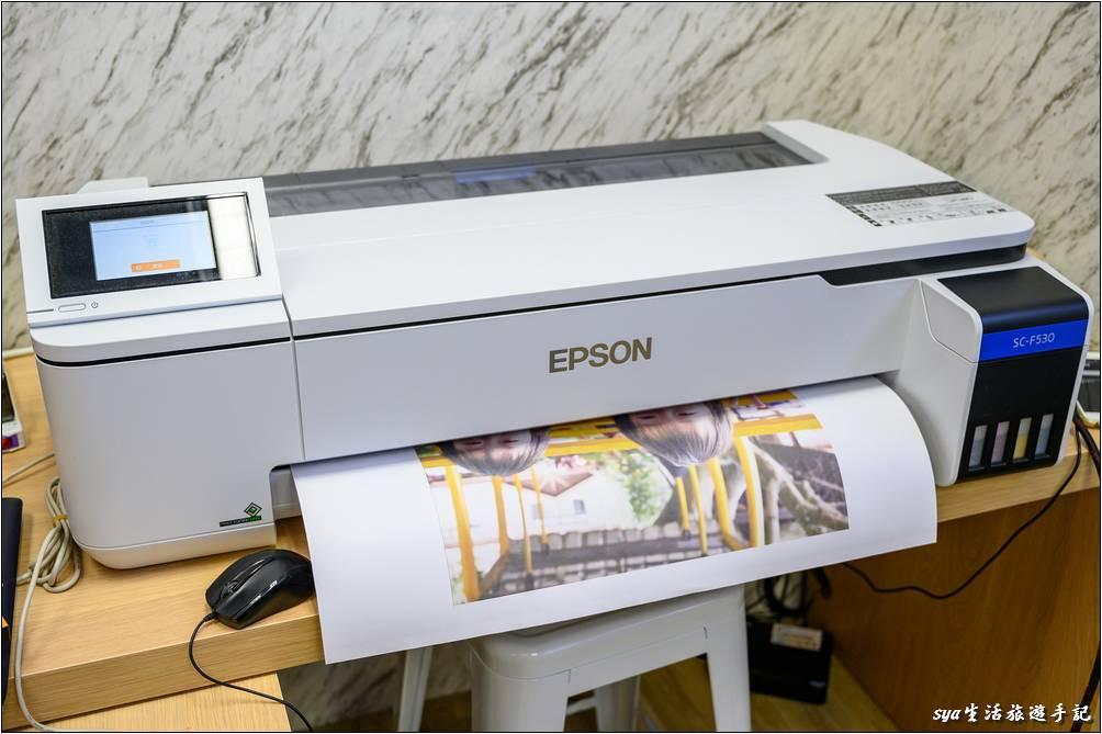 將抱枕圖稿印到轉印紙上-熱轉印機推薦