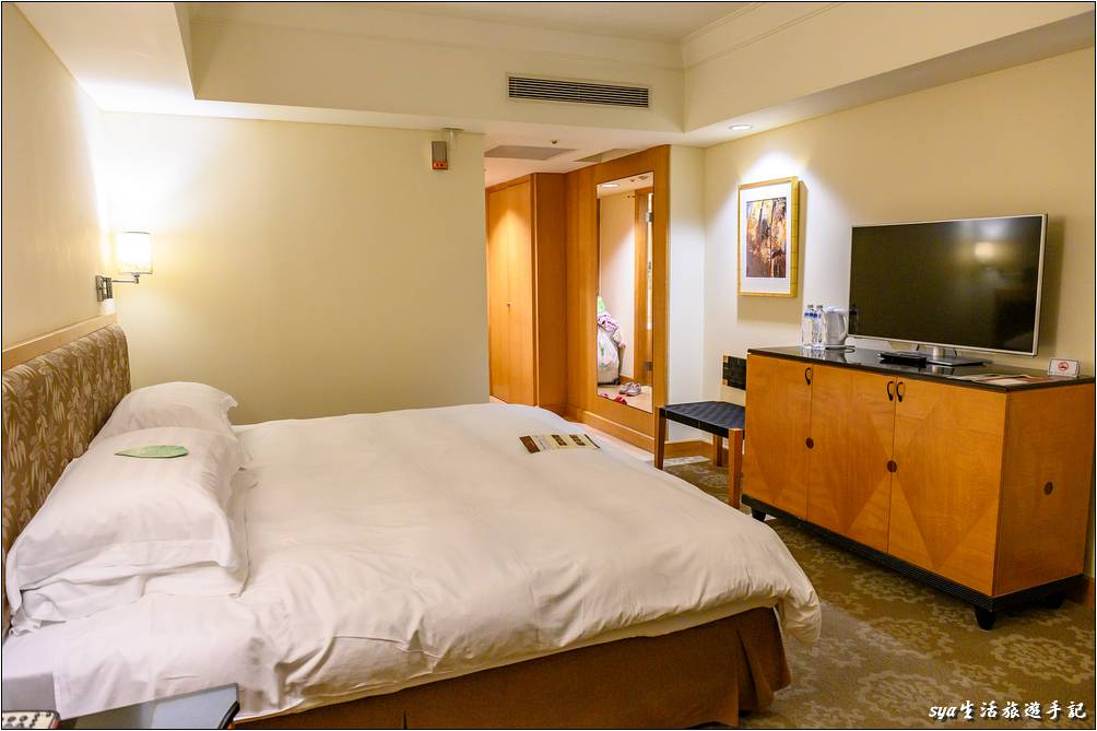 金典酒店舒適乾淨的客房環境