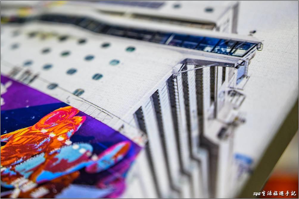 噴印無框畫凸起部份-UV直噴機推薦