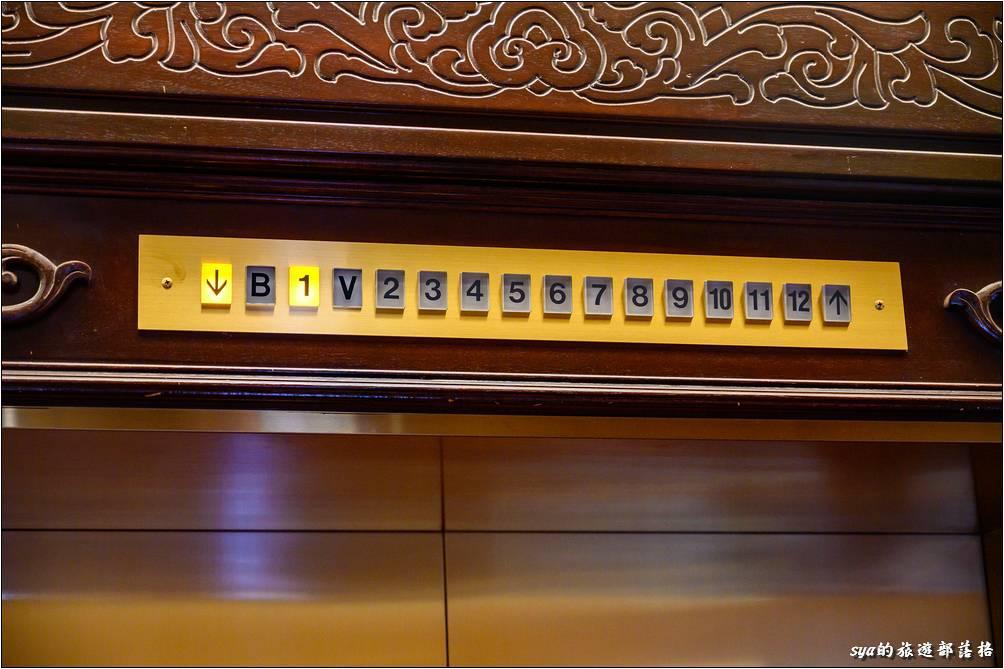 台北圓山大飯店 避難通道