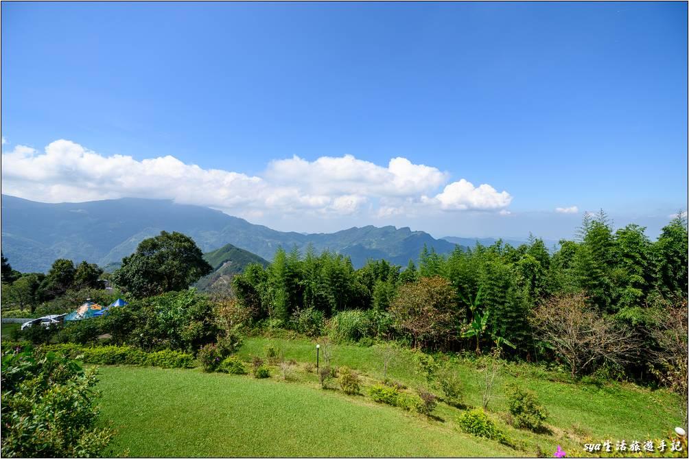 天闊營地的視野與景觀
