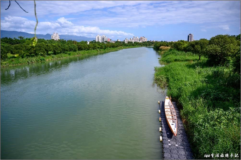 橋下就是宜蘭河