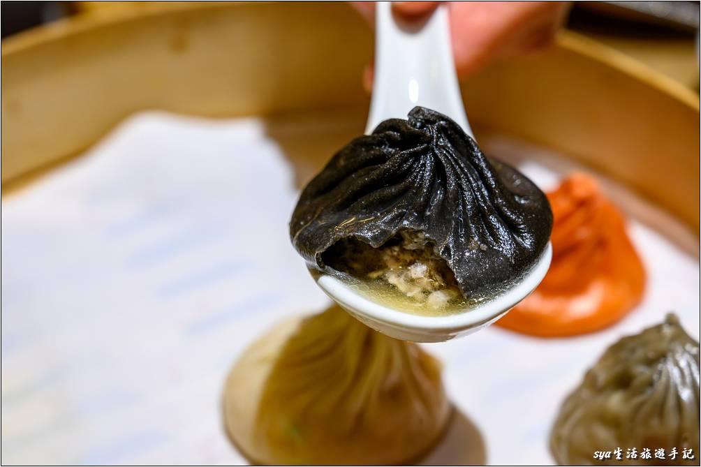 黑松露小籠湯包