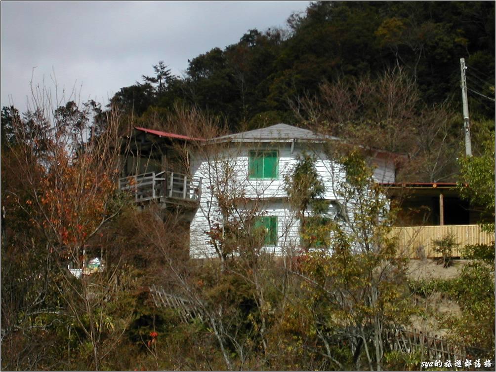 當年跟著車隊來到司馬庫斯的時候,我住的是上面這間八角形的建築「福音山莊」。