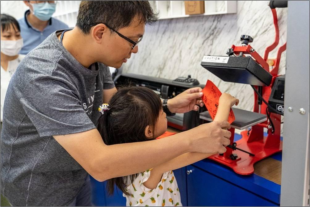 小孩操作平燙機-個性化商品