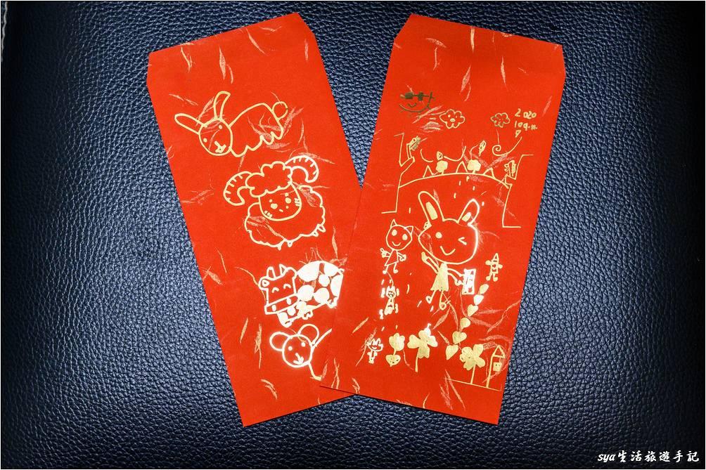 客製化燙印紅包袋展示-客製化商品