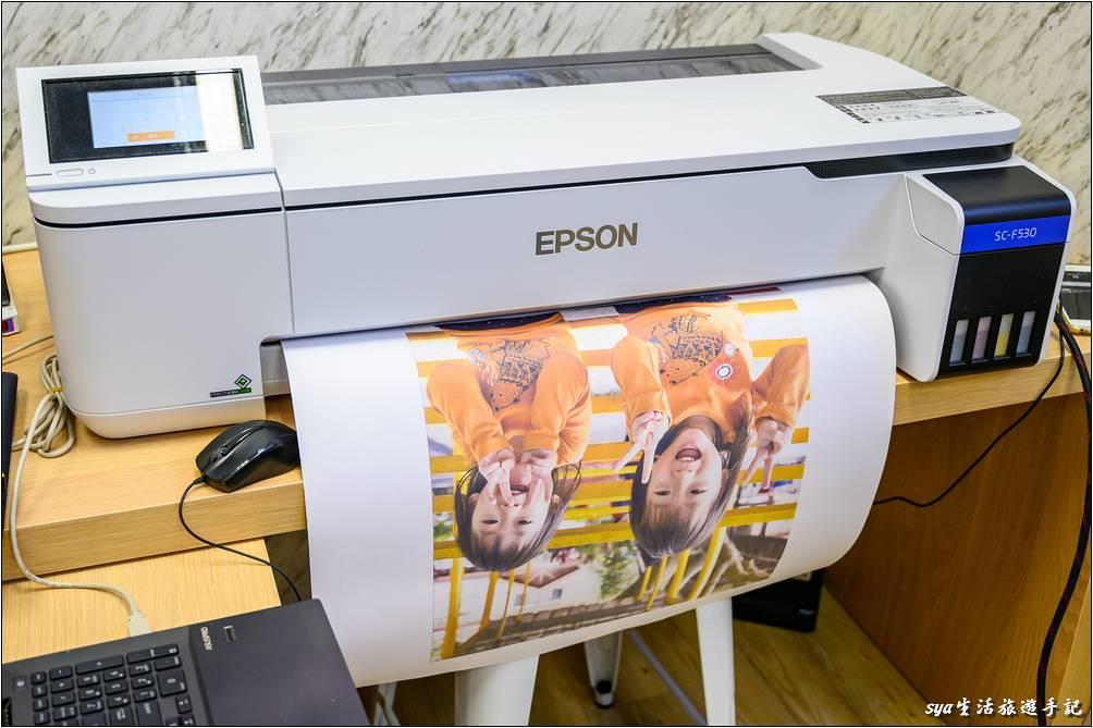 抱枕轉印紙列印過程-熱轉印機推薦