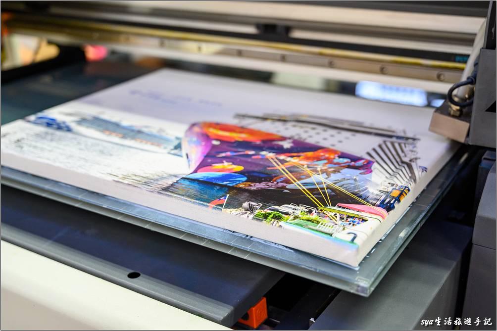 桌上型直噴擊可印刷尺寸-UV直噴機推薦