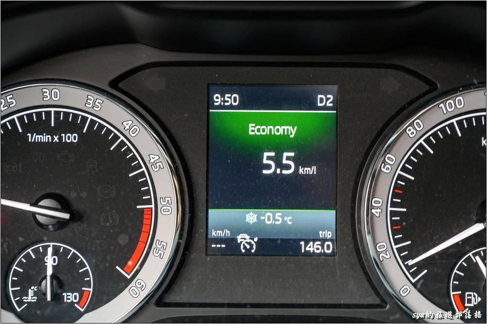 繼上週「見晴懷古步道」我們解鎖了車子的藍色「雪地符號」後,這週繼續解鎖車子室外溫度的「負值顯示」!
