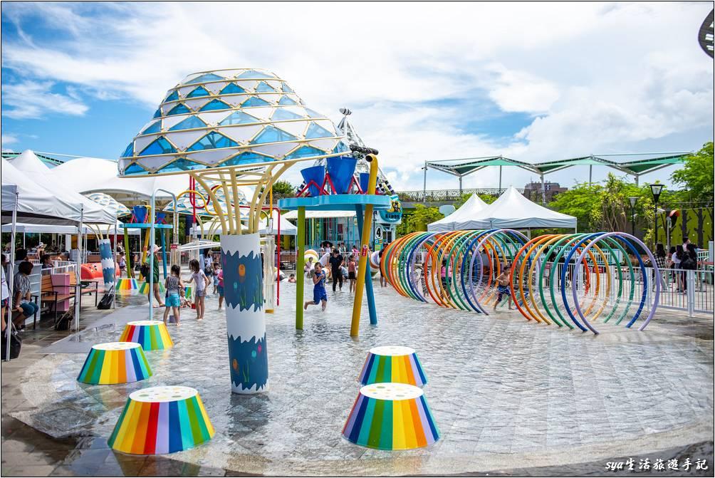「小小水樂園」是今年7月開始啟用的新設施