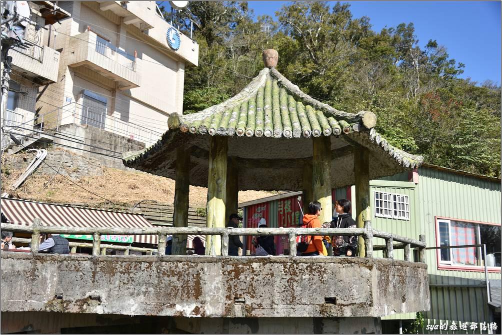 宇老觀景台歷史悠久的觀景亭
