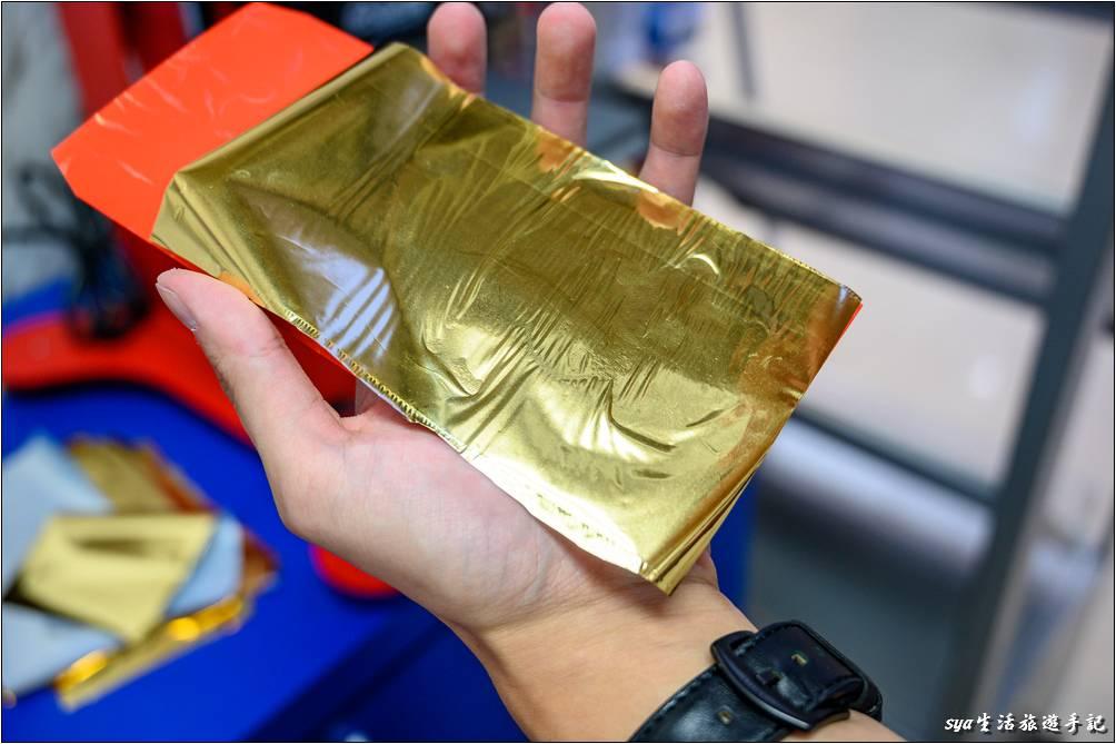 紅包袋燙印完成-個性化商品