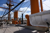英國(6)軍武之旅(1):普茲茅斯港 , Portsmouth Harbour:0545.jpg HMS Warrior
