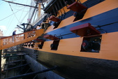 英國(6)軍武之旅(1):普茲茅斯港 , Portsmouth Harbour:0613.jpg 勝利號 HMS Victory