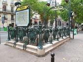 法國(8)塞納河的橋與巴黎地鐵﹝Pont de la Seine, le metro﹞:1184.jpg ( 巴黎 Paris , 地鐵 Metro )
