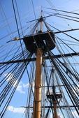 英國(6)軍武之旅(1):普茲茅斯港 , Portsmouth Harbour:0605.jpg 勝利號 HMS Victory
