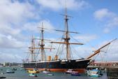 英國(6)軍武之旅(1):普茲茅斯港 , Portsmouth Harbour:0522.jpg Battleship Warrior