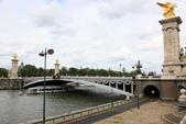 法國(8)塞納河的橋與巴黎地鐵﹝Pont de la Seine, le metro﹞:1125.jpg ( 巴黎 Paris , 塞納河 Seine )