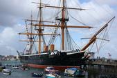 英國(6)軍武之旅(1):普茲茅斯港 , Portsmouth Harbour:0523.jpg HMS Warrior
