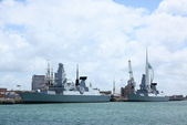 英國(6)軍武之旅(1):普茲茅斯港 , Portsmouth Harbour:0579.jpg ( Type 45 destroyer )