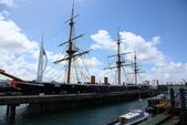 英國(6)軍武之旅(1):普茲茅斯港 , Portsmouth Harbour:0551.jpg HMS Warrior