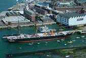 英國(6)軍武之旅(1):普茲茅斯港 , Portsmouth Harbour:0515.jpg Battleship Warrior