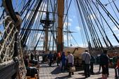 英國(6)軍武之旅(1):普茲茅斯港 , Portsmouth Harbour:0606.jpg 勝利號 HMS Victory
