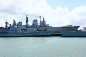 英國(6)軍武之旅(1):普茲茅斯港 , Portsmouth Harbour:0574.jpg ( HMS Carrier Ark Royal )