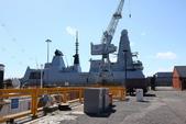 英國(6)軍武之旅(1):普茲茅斯港 , Portsmouth Harbour:0617.jpg  ( Type 45 destroter )