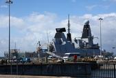 英國(6)軍武之旅(1):普茲茅斯港 , Portsmouth Harbour:0616.jpg  ( Type 45 destroter )