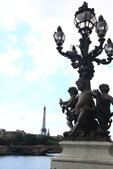 法國(8)塞納河的橋與巴黎地鐵﹝Pont de la Seine, le metro﹞:1134.jpg ( 巴黎 Paris , 塞納河 Seine )