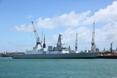 英國(6)軍武之旅(1):普茲茅斯港 , Portsmouth Harbour:0578.jpg ( Type 45 destroyer )