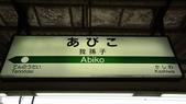 秋之戀(四)  相伴夕陽路:0225.jpg 我孫子駅