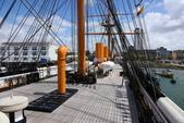 英國(6)軍武之旅(1):普茲茅斯港 , Portsmouth Harbour:0540.jpg HMS Warrior