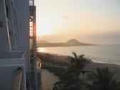 2012六天五夜環島[上](1/29~1/31):早晨的墾丁夏都波西塔諾館3樓海景房景色