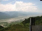2007四天三夜環島旅行(7/31~8/3):花蓮富里六十石山俯瞰花東縱谷