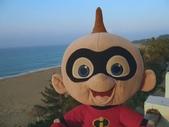 :可愛的大寶於墾丁夏都沙灘酒店3樓海景房