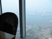 2011六天五夜環島旅行(1/23~1/28):高雄金典酒店39樓餐廳窗外景色