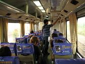 2008奮起湖阿里山之旅(8/30~8/31):阿里山森林火車車廂內