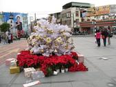 2011台鐵郵輪西拉雅1日遊(12/10):善化車站裝飾到一半的聖誕樹