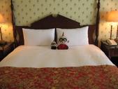 :大寶小寶合照於遠雄悅來大飯店豪華海景房