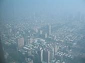 2011六天五夜環島旅行(1/23~1/28):高雄金典酒店70樓走廊窗外景色
