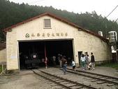 2008奮起湖阿里山之旅(8/30~8/31):阿里山森林鐵路奮起湖車庫