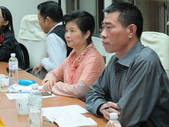 1031201福建工會來訪:圖02本次三參訪的兩位團長郭曉霞小姐(左)及張發柳先生(右).JPG