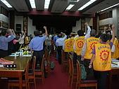 20091106工會法三度動員至立法院群賢樓:DSCN3746.JPG