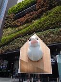 102.07.22 文藝海濱傳25Day1之小人大鳥文創老房子:大鳥超大,根本就是營養過剩把房子撐開了那樣XDD