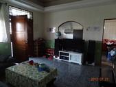 2012.07.20 宜蘭彩繪森林民宿:左邊則是大尺寸電視